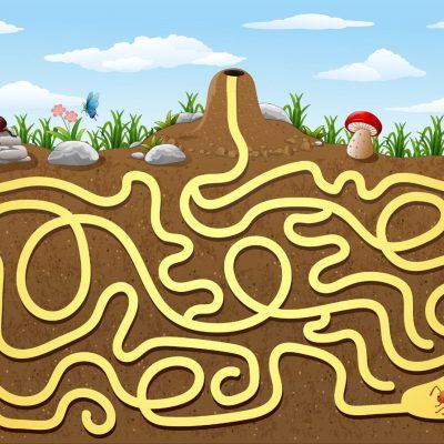 Leiki-ja-liiku-muurahaiset-muurahaispesa-labyrintti-lautapeli-teippilajitelma_-suurkuva-teipit-tarrat-opetus-leikki-paivakoti-pelit-16